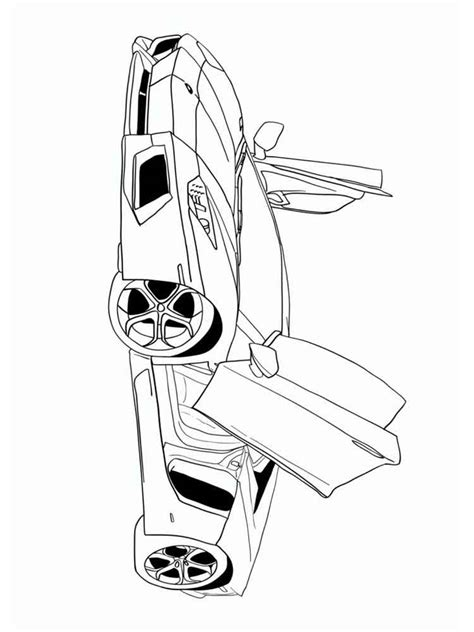 muscle car coloring pages  printable muscle car