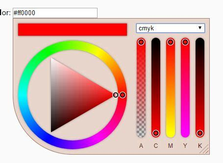 hsv color picker color wheel style hsv hex color picker plugin with jquery