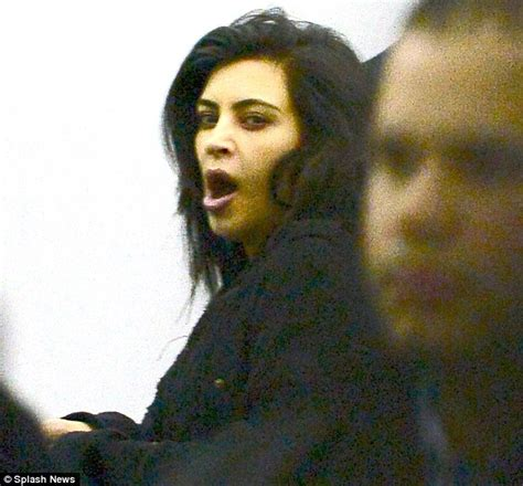 take me take me back to your bed kim kardashian goes make up free after daughter north west s tantrum at nyfw daily