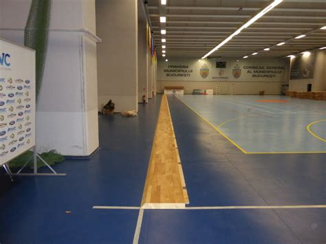 Removable Floor Panels by Even In Bucharest A Removable Sports Floor Dalla Riva