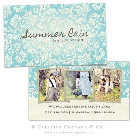 Free Shabby Chic Business Card Templates by 23 Best Business Thank You Cards Images On