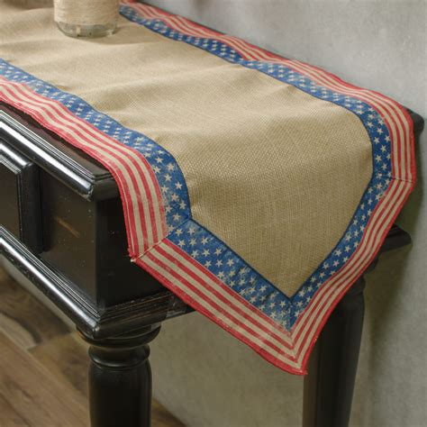 faux burlap table runner 72 quot royal faux burlap stripes table runner rg9548