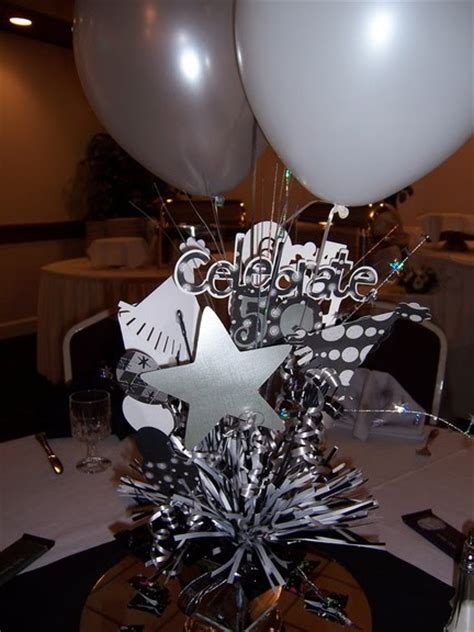 50 birthday centerpiece ideas sew krafty kathy centerpiece
