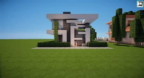 modern house minecraft 13 215 13 modern house tutorial minecraft building inc