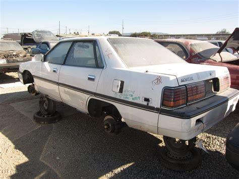 junkyard find 1989 mitsubishi sigma the about cars