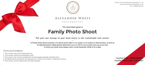 printable vouchers uk 2015 sussex family portrait photography vouchers