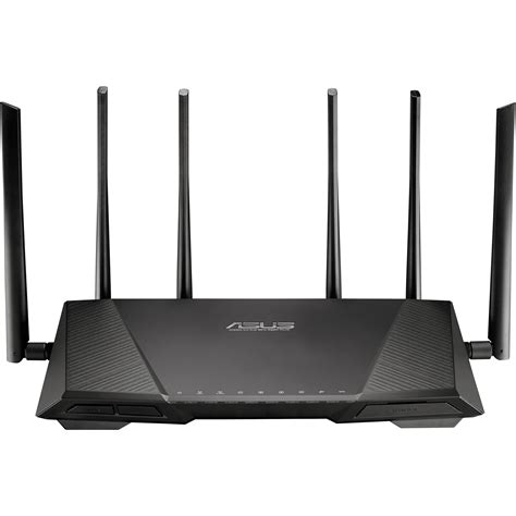 Router Asus asus rt ac3200 tri band wireless ac3200 gigabit router rt ac3200