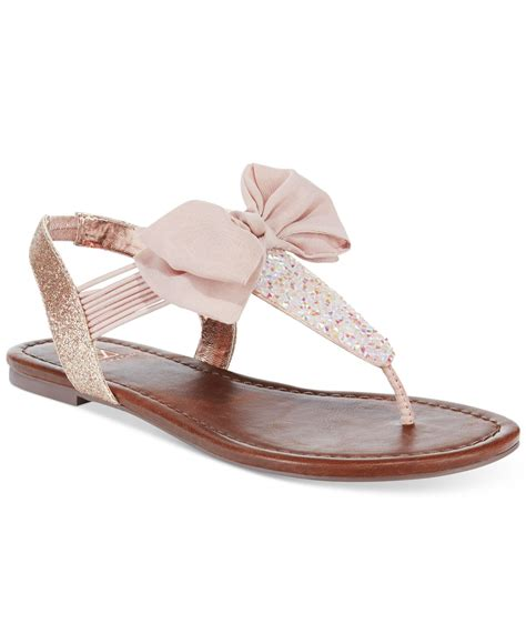 sandals only lyst material swan flat sandals only at macy
