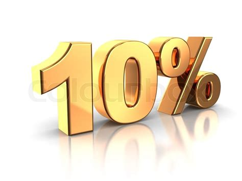 10 percent more free answrme 10 percent stock photo