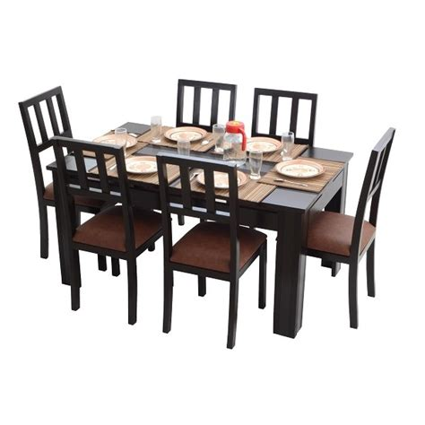 6 Seater Dining Tables Ariaria 6 Seater Dining Table Table Only Skarabrand