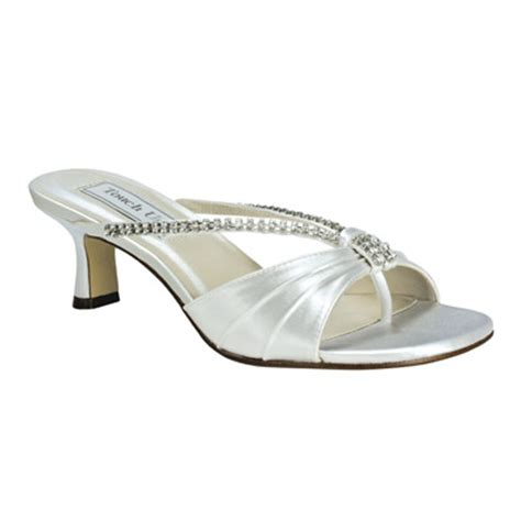 Wedding Shoes Size 11 Wide by White Dress Sandals Low Heel In Size 11 Wide Low Heel