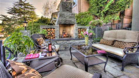 Fireplace Patio Place 15 Outdoor Stone Fireplaces To Love Home Design Lover