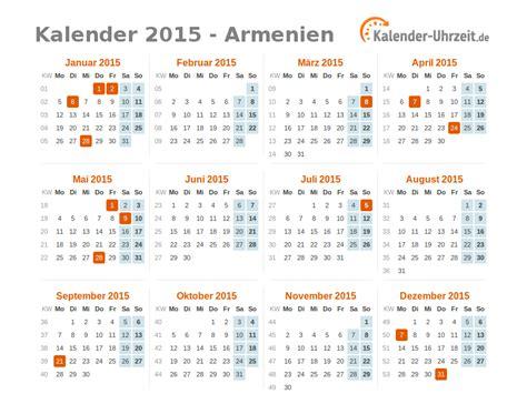 Armenian Calendar Feiertage 2015 Armenien Kalender 220 Bersicht