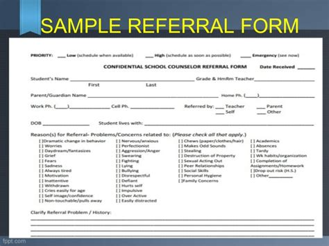 mental health referral form template motorcycle review