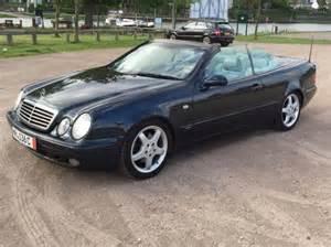 Mercedes Clk320 Review Mercedes Clk 320 Cabriolet Sport 1998