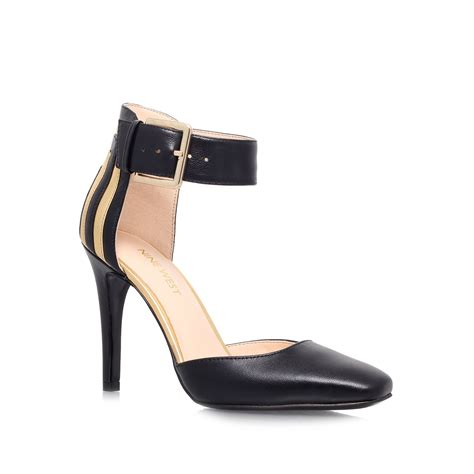 high heels nine west nine west legna high heel court shoes in black lyst