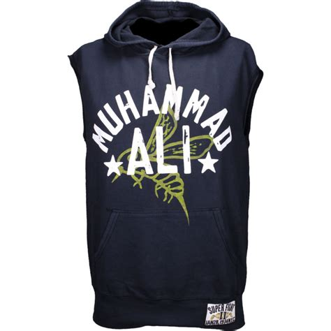 Hoodie Muhammad Ali By Joe Store roots of fight muhammad ali fight 74 sleeveless