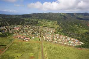 Lanai city aerial by ron dahlquist printscapes