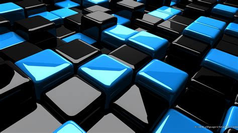 wallpaper blue cube 3d cubes wallpapers 1920x1080