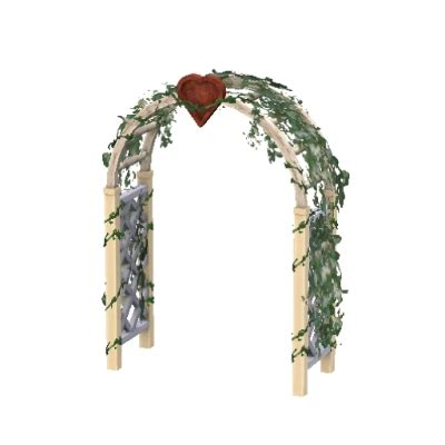 Wedding Arch In Sims 3 by Wedding Arch By Lolitalullaby94 The Exchange Community