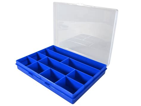 Small Storge Box terry plastics t pf1 small storage box 16 divisions tf f1