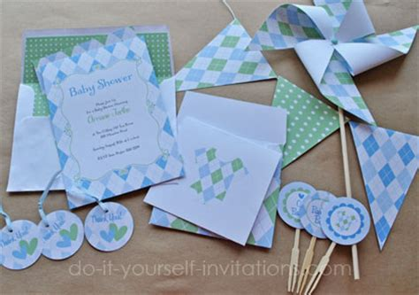 Baby Shower Invitation Kits Do It Yourself by Print Your Own Invitation Kits Fabulous Amazoncom Wilton