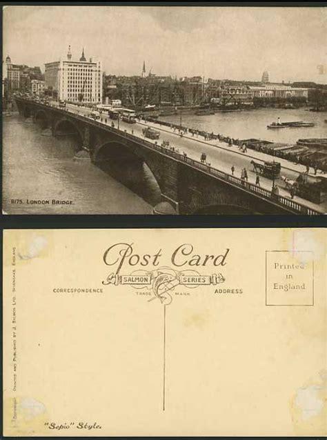 thames river salmon london bridge thames river old salmon postcard horses for sale