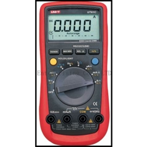 Uni T Ut136a Digital Multimeter Auto Range Ac Dc buy free shipping uni t ut61c digital multimeter auto range ac dc temperature frequency f ohm pc