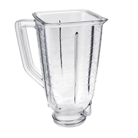 best oster blender oster 174 5 cup square top plastic blender jar 027472 000 089