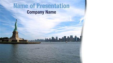 New York City Skyline Powerpoint Templates New York City Nyu Powerpoint Template