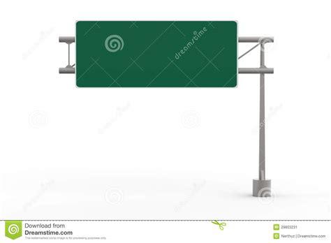 freeway templates green blank freeway sign stock image image 29803231