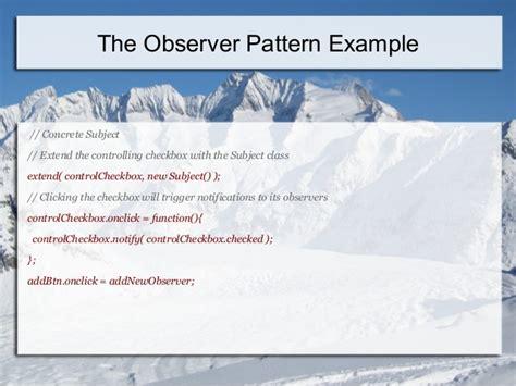 javascript observer pattern jquery design patterns in java script jquery angularjs