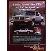Vintage 1984 Hurst/Olds Magazine Advert  Cars Pinterest