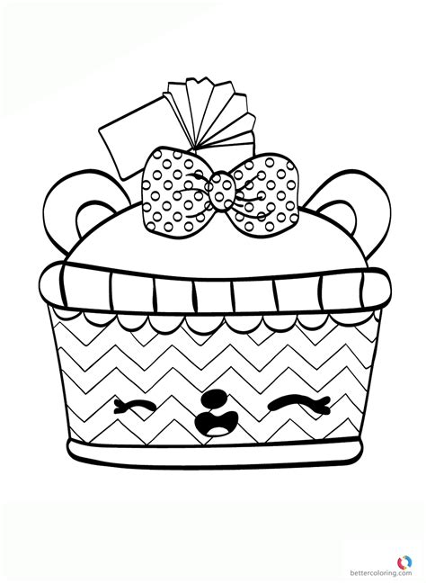 Coloring Page Num Noms by Num Noms Colouring Page Cola Free Printable