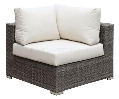 u shaped sectional sofa with ottoman somani cm os2128 4 outdoor u shaped sectional sofa w ottoman