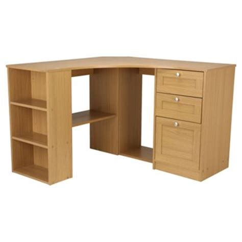 Buy Fraser Corner Desk With Storage From Our Office Desks Oak Effect Corner Desk