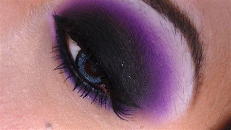 imagenes ojos morados tutorial de maquillaje maquillaje de ojos morado