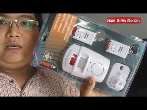 Alarm Sensor Gerak Anti Maling review alarm anti maling sensor gerak pir motion sensor