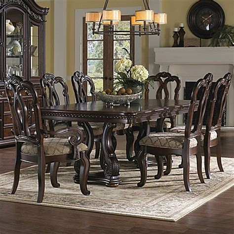 pulaski dining room pulaski san marino 9 piece dining room set bed bath beyond