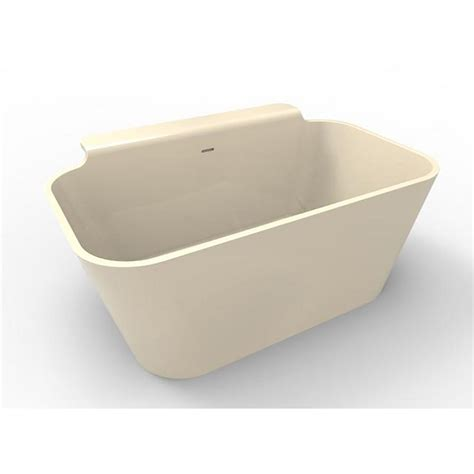 5 foot freestanding bathtub hydro systems richmond 5 ft solid surface flatbottom non