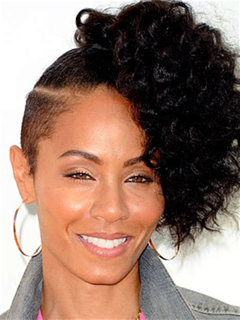 shaved side black womans hairstyles siah style side shaved hairstyle