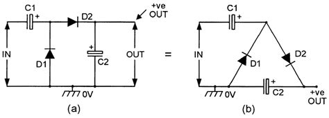 voltage multiplier capacitor polarity dc voltage converter circuits nuts volts magazine for the electronics hobbyist