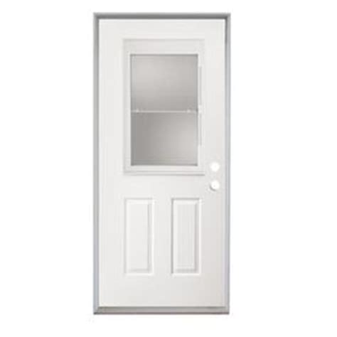 30 X 80 Exterior Door With Window Shop Reliabilt Fiberglass Prehung Entry Door Common 30 In X 80 In Actual 31 5 In X 81 75 In