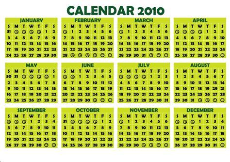 Calendar For 2010 Calendar 2010 Design
