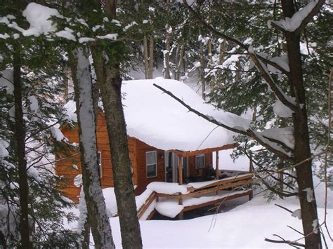 Snowy Cabin In The Woods by Snowy Cabin In The Woods