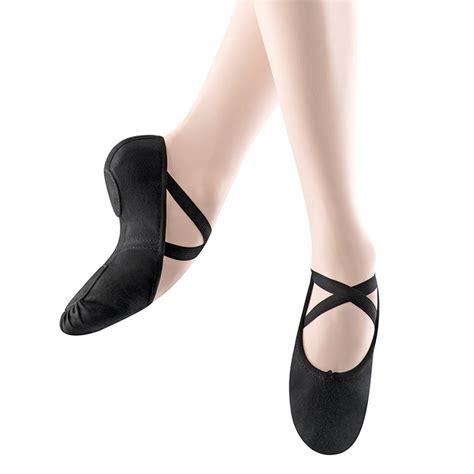 black ballet shoes for bloch zenith ballet slippers black