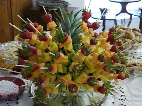 denise s kitchen fruit kabob centerpiece