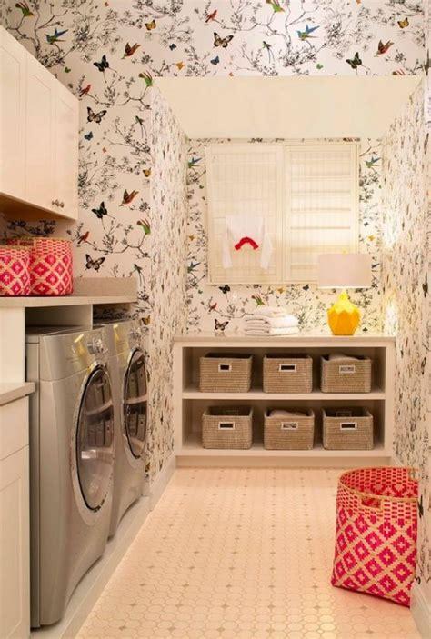 laundry room wallpaper wallpaper organization laundry room laundry rooms and craft rooms