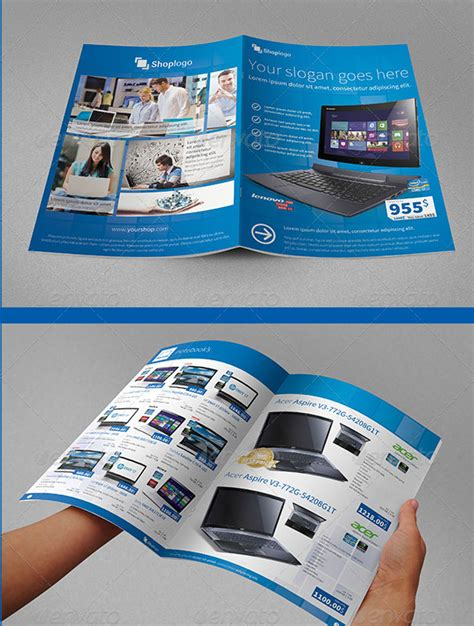 34 awesome psd brochure design templates web