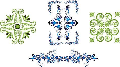 Khmer Wedding Font by Delicate Floral Frames Vector Vector Frames Borders